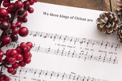 Weihnachtsnoten PDF Klavier oder Gesang