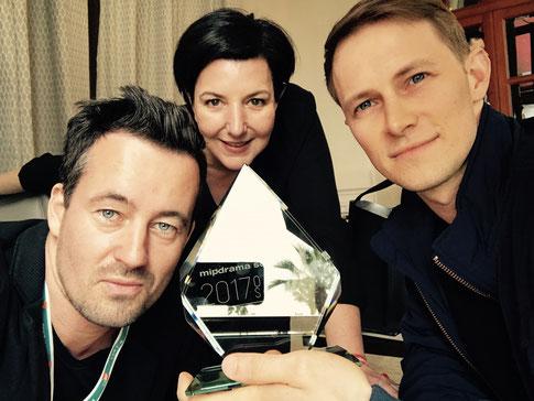 Christian Schwochow (Regie), Lisa Blumenberg (Prod.), Oliver Kienle (Head-Autor)