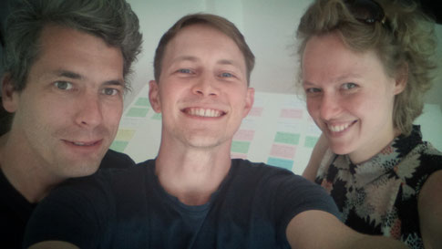 Oliver Kienle, Jan Galli, Jana Burbach, Writers Room, Bad Banks