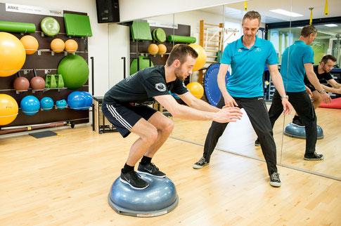 In der Sportphysiotherapie werden Sportler wieder optimal vorbereitet auf ihr Sport und Wettkampf!