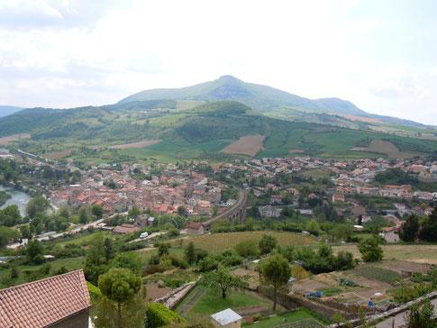 Aguessac Gorges du Tarn vu de Compeyre