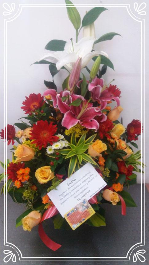 ARREGLOS FLORALES en San Gil... Flores y regalos - Página web de ...