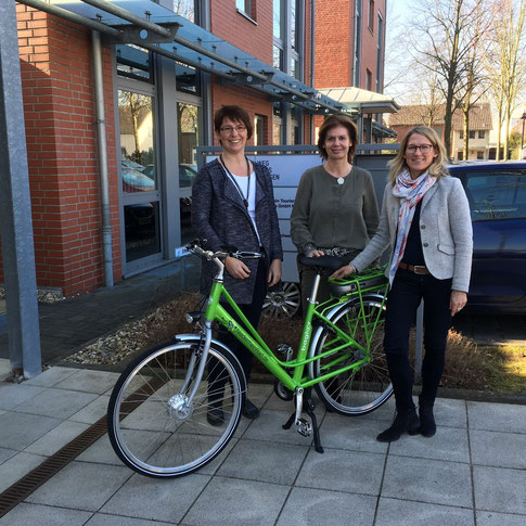 Die LEADER-Regionalmanagerinnen tauschten sich mit der Tourismusexpertin Martina Baumgärtner über Entwicklungen im Bereich Tourismus in der Region Niederrhein aus.