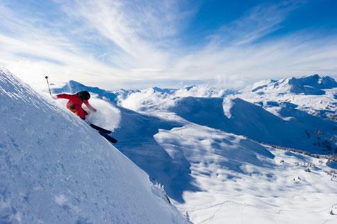 Skifahren in Kanada für Austauschschüler