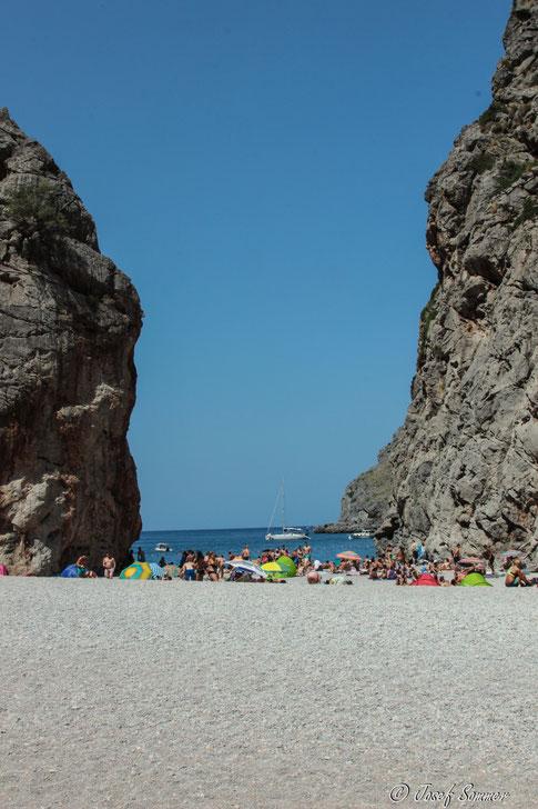 Die Strandtouries staunten nicht schlecht über uns