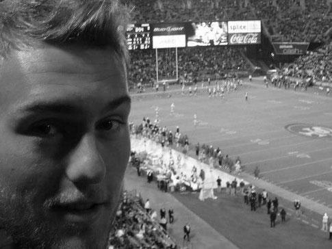 David Eder beim Spiel San Francisco 49ers vs. San Diego Chargers 2012