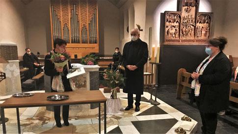 Cäcilienfest 2020 Kirchenchor Nütheim-Schleckheim Ehrung Jubiläum Corona