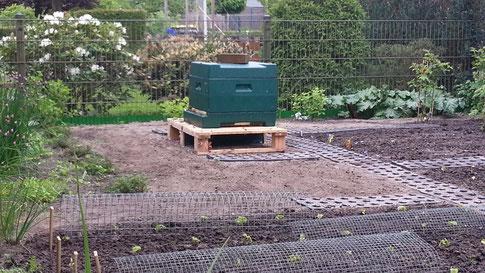 Unser neuer Stand in den Rheder Gärten
