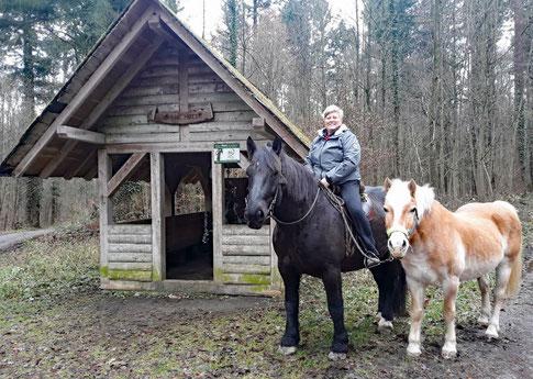 Mit Willi und Amor an der Grünen Hütte