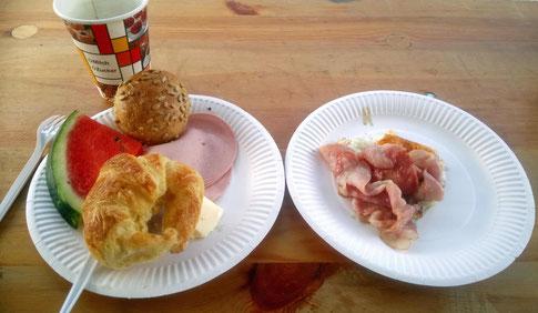 Wanderreiterfrühstück :-)