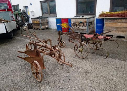 Landwirtschaftliche Geräte zum Zug für Pferde