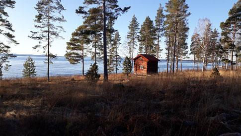 Der See Siljan bei Rättvik