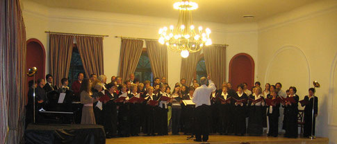 1° concert avec le Kamarakorus, à Obudai Taraskör