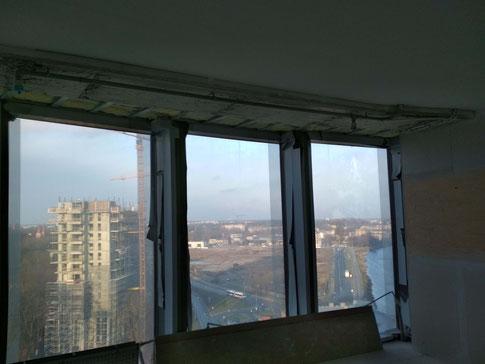 Z-towers. Вид из 10 этажа