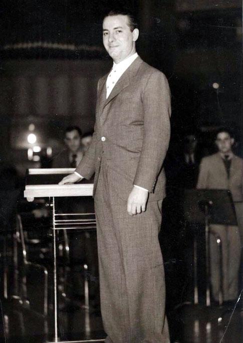 Eduardo Armani en Argentina, década de los 40's.