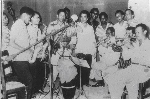Daniel Santos y Los Pelayeros, Cartagena - 1958.