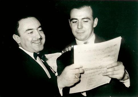 Juan Arvizu y Mario Clavell.