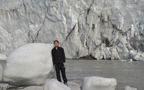Am Rand des Grönländischen Inlandeises...