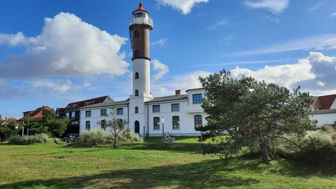 Leuchtturm der Insel Poel in Timmendorf Strand