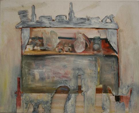2. Still life,  Oil on canvas   40 x 50 cm   2018