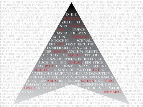 """Plakat zu """"Nora, die weiße Rose"""" von Autorin Nadine J. M. Knauer, Romane, Gedichte, Monologe und Publikationen"""