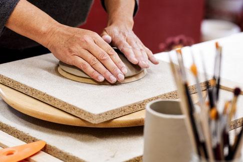 Töpferkurse, Töpferei, handgemacht, Deko handgemacht, Keramik, DIY, Kunst, Galerie Ingolstadt,