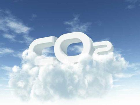 CO2-Wolke