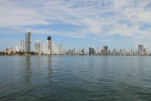 Cartagena Ziel Segelabenteuer Reisen Kolumbien