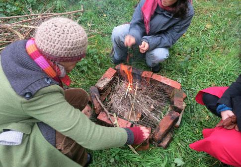 Ritual für Mutter Erde Seminarhaus Zichow
