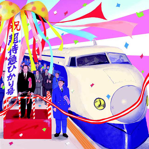 「昭和40年男」(佐川光晴著 日刊ゲンダイ掲載)挿絵