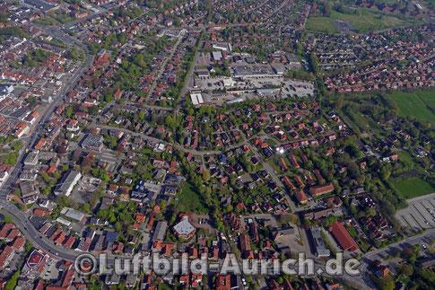 Aurich - die Fockenbollwerkstrasse bis Andreaestrasse