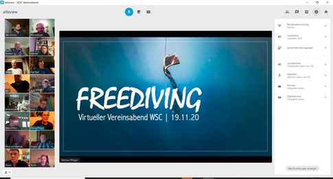 Vortrag Freediving |Foto: Alexander Höhe