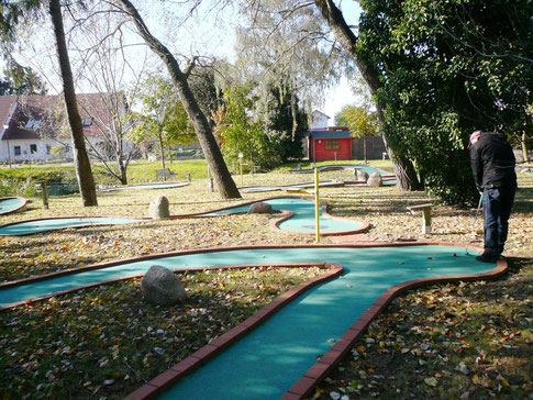 Minigolf-Anlage in Koserow