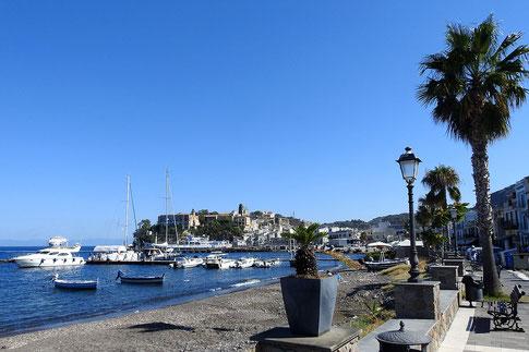 Insel Lipari in Italien