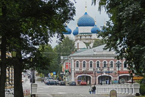 Uglitsch Wolga Stadtzentrum