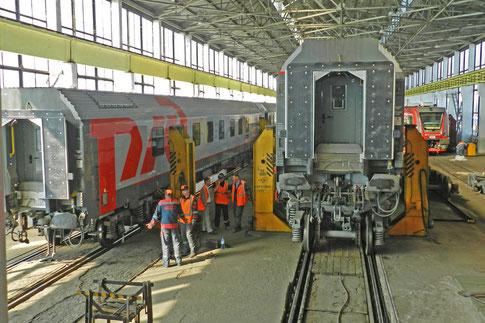 Moskau-Paris-Express Brest Weißrussland