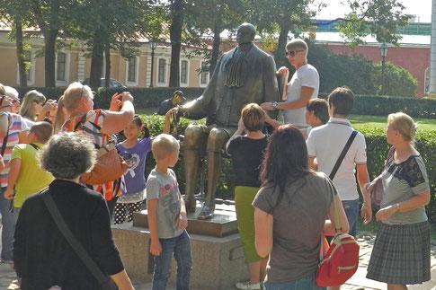 Schemjakin Denkmal Peter der Große Petersburg