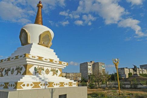 Elista Stupa Kalmückien