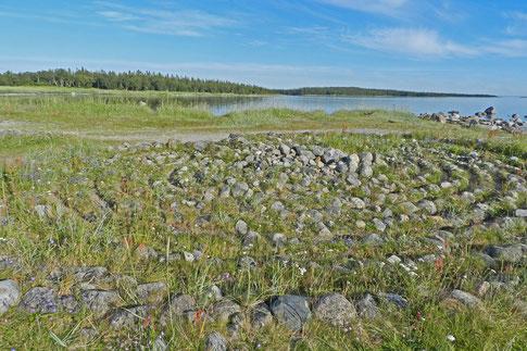 Steinkreis auf den Solowezki-Inseln