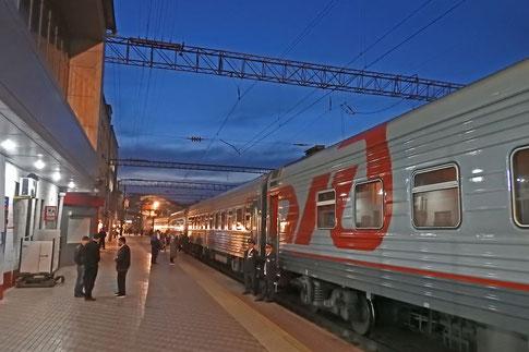 Bahnhof in Machatschkala - Dagestan