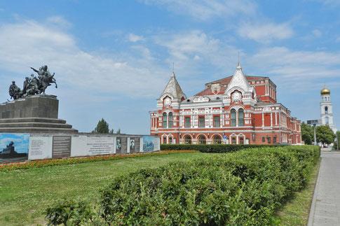 Theater Samara Tschapajew-Denkmal