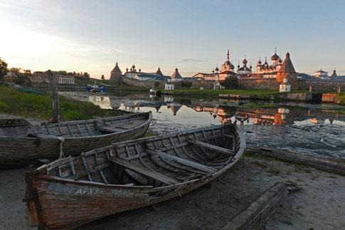 Solowetzki-Inseln Kloster Соловецкий монастырь
