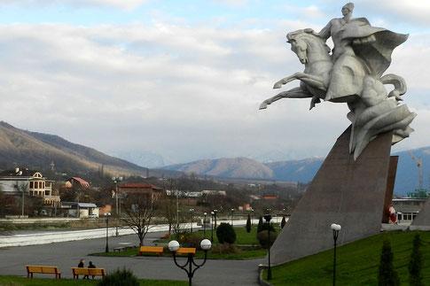 Issa Plijew Monument in Wladikawkas