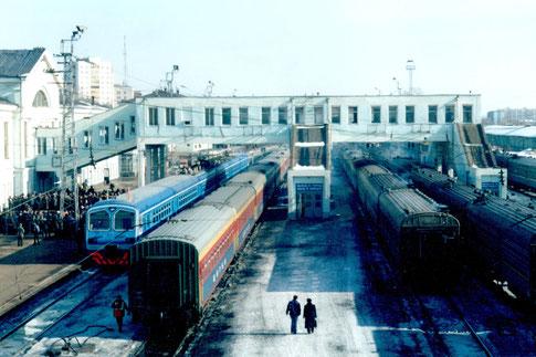 Bahnhof Kirow Russland 2003