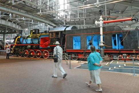 Eisenbahnmuseum Sankt Petersburg Музей железных дорог России Dampflok