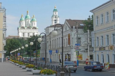 Astrachan Zentrum Kreml