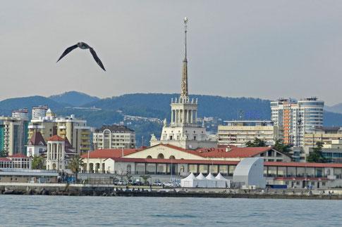 Sotschi Meeresbahnhof Hafen