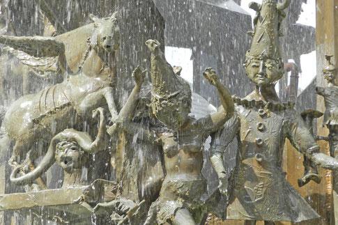 Карнавальный фонтан Майнц