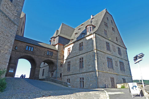 Марбург замок гессенских ландграфов.
