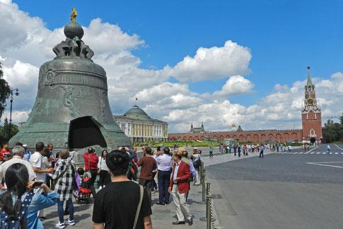 Zaren-Glocke Moskau Kreml